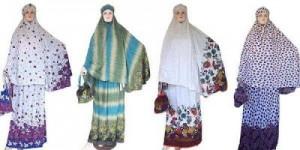 Mukena dari kainsongket Tersedia berbagai type dan model