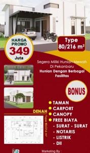 Brosur  Rumah Exclusive Di Pekanbaru